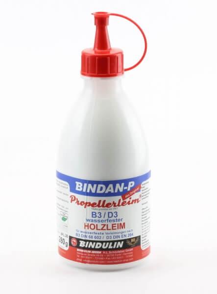 280 g Bindan P Propellerleim · wasserfester Holzleim D3 nach EN 204