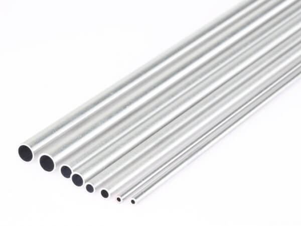 Ø 4,0 / 3,1 mm Aluminium-Rundrohr · 305 mm