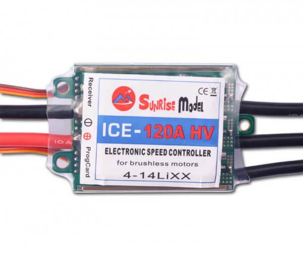 ICE 120 A HV · Brushless Regler · Sunrise Model