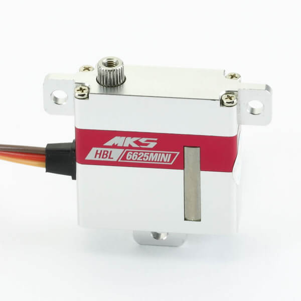MKS HBL 6625 Mini HV ·10 mm digitales Brushless-HV-Servo bis 60 Ncm