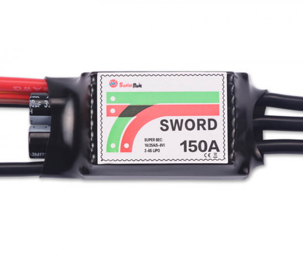 Sword 150 A SBEC · Brushless Regler · Sunrise Model