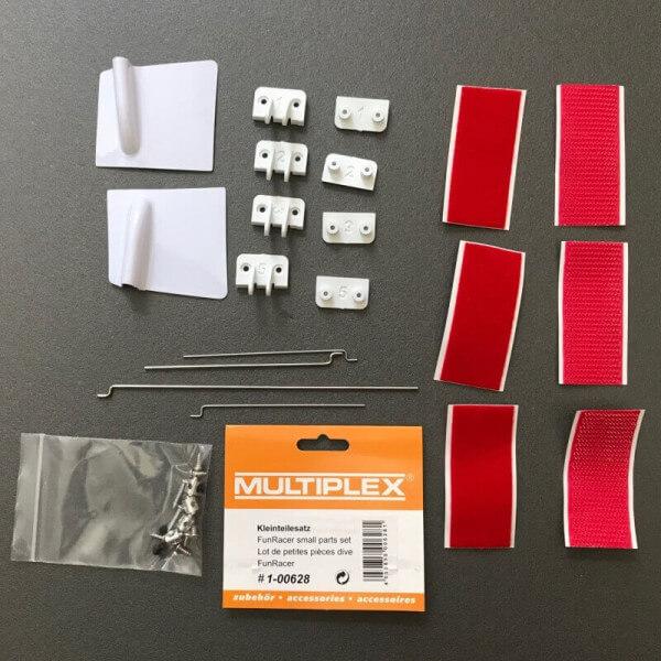Kleinteilesatz für MPX FunRacer · Original Ersatzteil von Multiplex