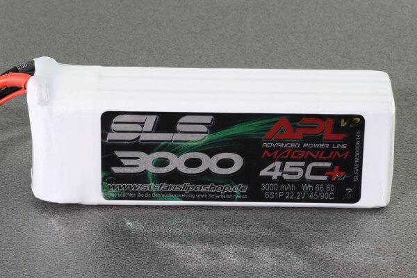 SLS APL MAGNUM V2 3000 mAh 6S Lipo (22,2V) 45 C · XT60