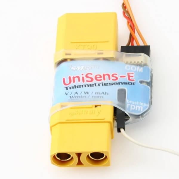 UniSens-E mit XT90 · SM-Modellbau