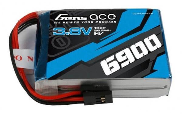 6900 mAh 1S HV Lipo-Senderakku 3,8 V · u.a. für Graupner MX 10·12·16·20