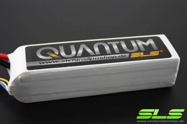 SLS Quantum 4000 mAh 4S Lipo (14,8V) 65 C · XT90-Stecker