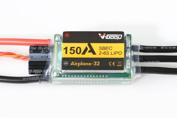 Airplane-32 · 6S · 150 A · 5,5 V SBEC · Brushless Regler · V-GooD