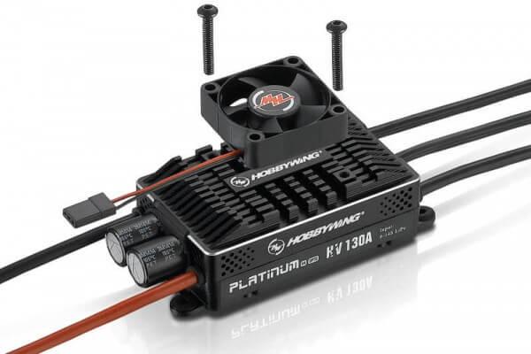 Hobbywing Platinum Pro 130 A V4 · Opto · 5-14 S · Brushless Regler