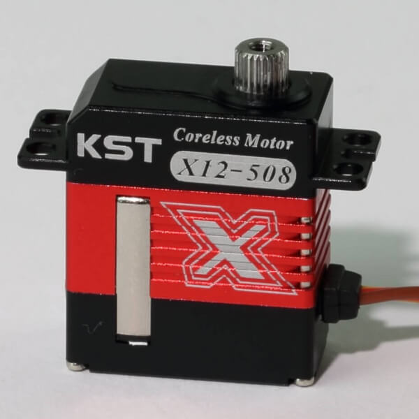 KST X12 508 · 12 mm digitales Micro Servo bis 62 Ncm