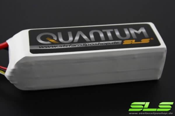 SLS Quantum 3000 mAh 5S Lipo (18,5V) 65 C · XT90-Stecker