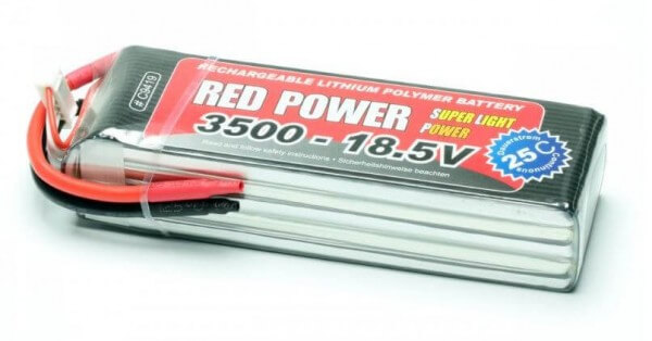 Red Power SLP 3500 mAh 5S Lipo (18,5V) 25 C