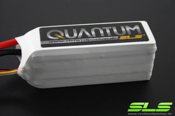 SLS Quantum 2200 mAh 4S Lipo (14,8V) 65 C · XT90-Stecker