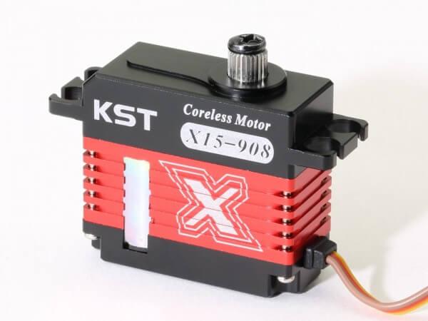 KST X15 908 · 15 mm Coreless-Servo bis 92 Ncm