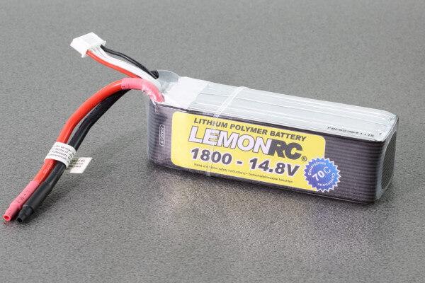 LemonRC 1800 mAh 4S Lipo (14,8V) 70 C · Pichler