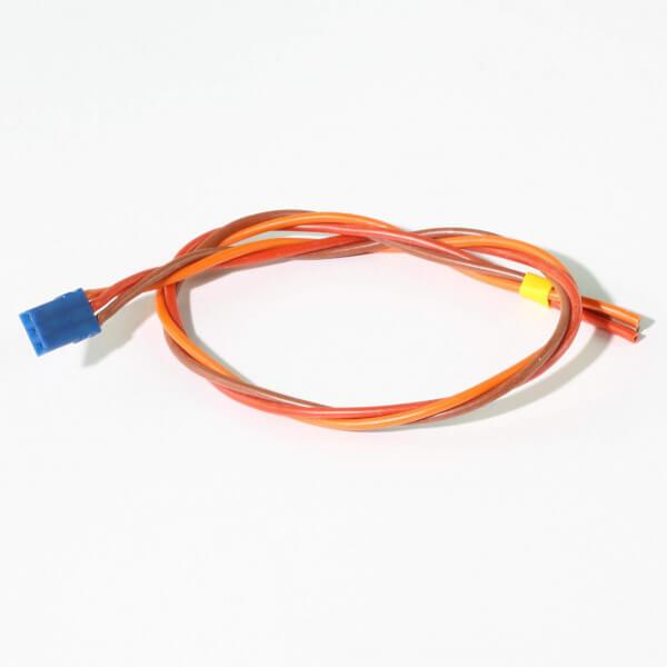 30 cm Servoanschlusskabel JR UNI 3 x 0,50 mm² verdrillt Blue-Line Silikon