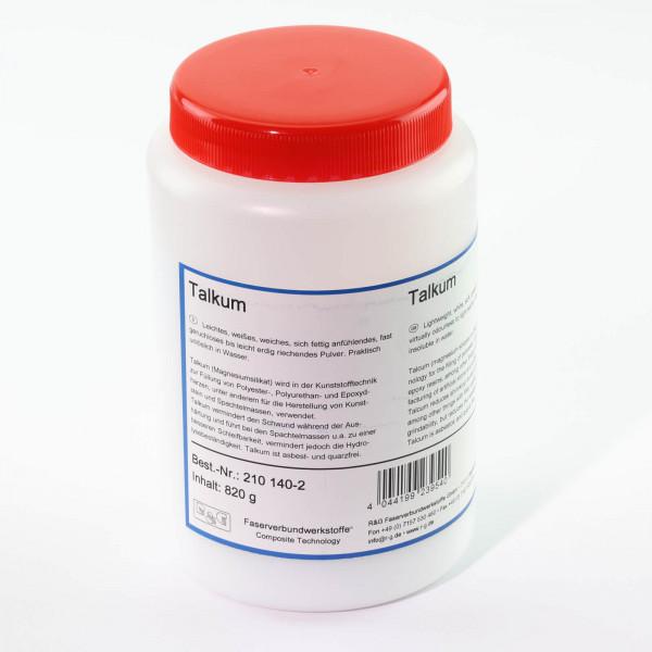 820 g Talkumpulver · Magnesiumsilikat · R & G