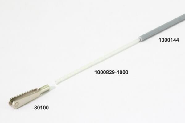 1000 mm Polystal GFK Bowdenzugseele Ø 1,7 mm · Simprop