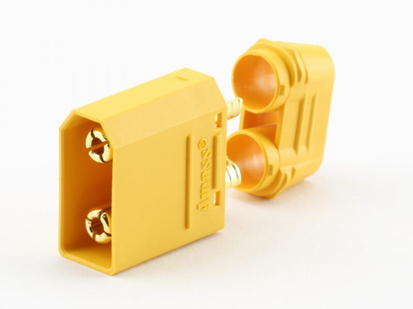 XT90 H Stecker · Nylon · Kontakte vergoldet · Amass High Quality Product