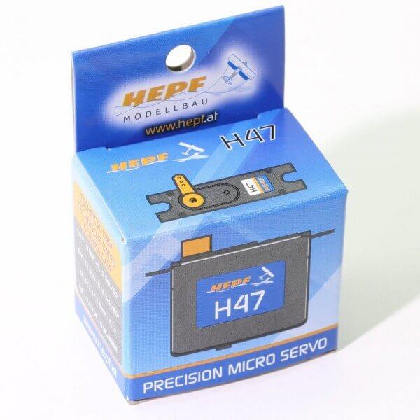 Hepf H47 Servo · 8 mm Servo bis 11 Ncm