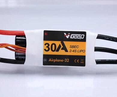 Airplane-32 · 4S · 30 A · 7,4 V SBEC · Brushless Regler · V-GooD