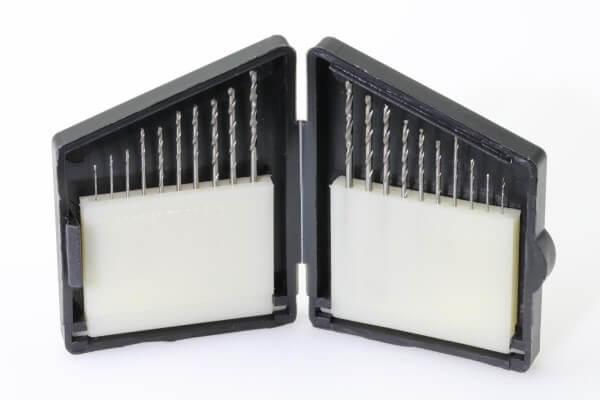 20-tlg. HSS Bohrer-Set Ø 0,3 - 1,2 mm DIN 338 Typ N rechts