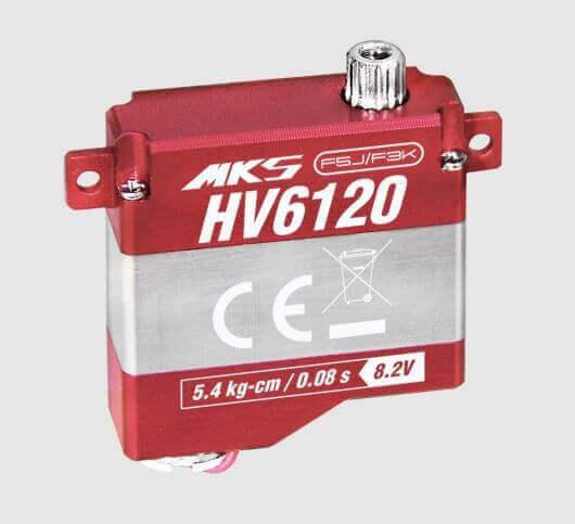MKS HV 6120 · 8 mm digitales HV-Servo bis 54 Ncm - bald lieferbar
