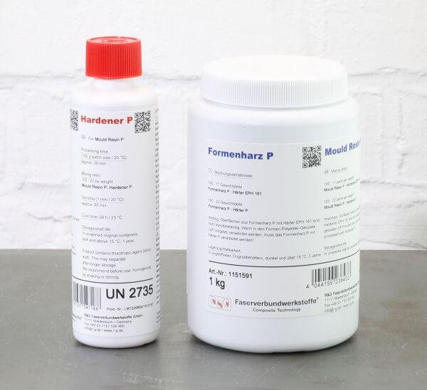Formenharz P + Härter P · 1,22 kg-Set · R & G Faserverbundwerkstoffe