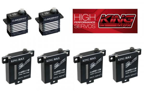 4 x KM 911 plus 2 x KM 2035 H ·  Kingmax F3X Servoset