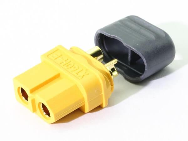 XT60 Buchsen H · Nylon · Kontakte vergoldet · Amass High Quality Product
