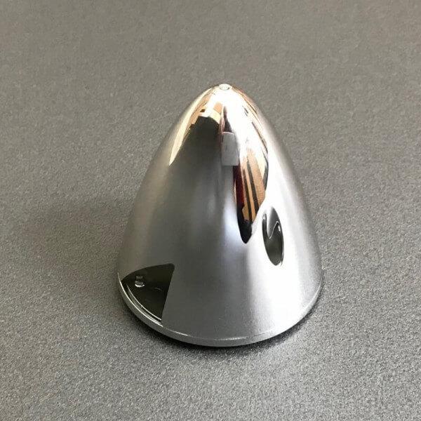 Spinner Kunststoff Chrom Ø 67 mm für MPX FunRacer · Original Ersatzteil von Multiplex