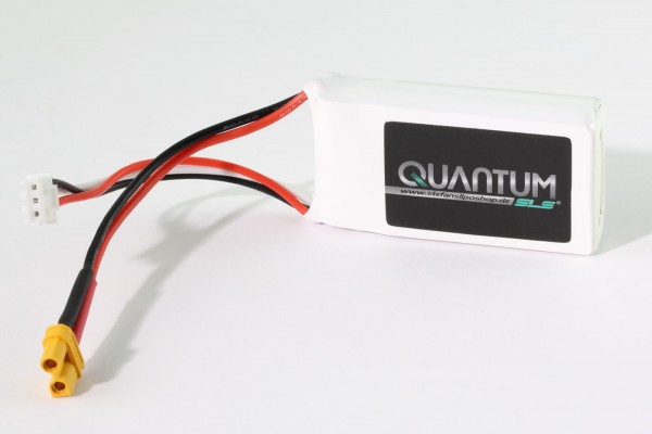 SLS Quantum 500 mAh 2S Lipo (7,4V) 30/60 C · XT-30-Stecker