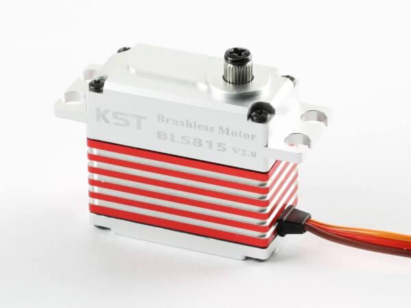KST BLS 815 V2 · 20 mm Brushless-HV-Servo bis 200 Ncm für Großmodelle und Hubschrauber-