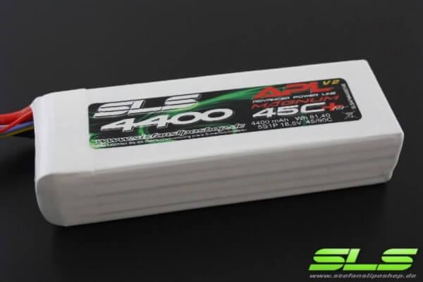 SLS APL MAGNUM V2 4400 mAh 5S Lipo (18,5V) 45 C · XT90