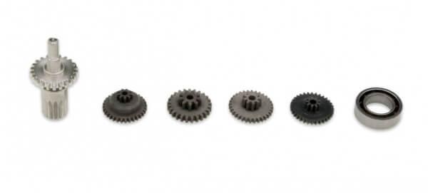 Stahl-Ersatzgetriebe für KST X08 V5 · X08H V5 · X08N V5 · X08 V5 Plus · X08 V2 Plus · HS-08A · HS-08