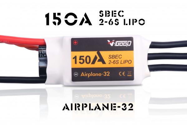 Airplane-32 · 6S ·150 A · SBEC · Brushless Regler · V-GooD