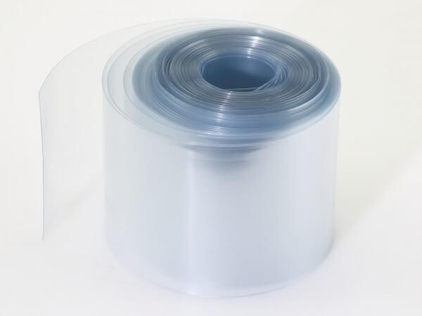 1 m Schrumpfschlauch transparent ø 37 mm · flach 58 mm · Schrumpfrate 1:2 · PVC