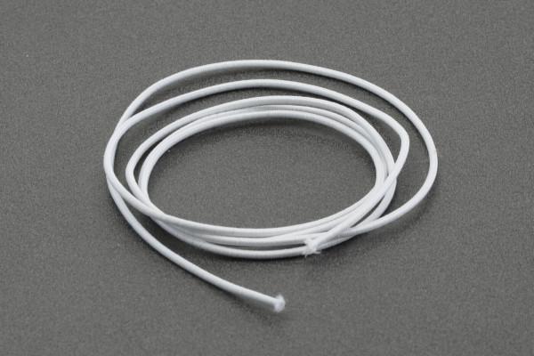 1,0 m Gummischnur weiß Ø 2,0 mm · für Klapp-Propeller · reißfest und sicher zu verknoten ·