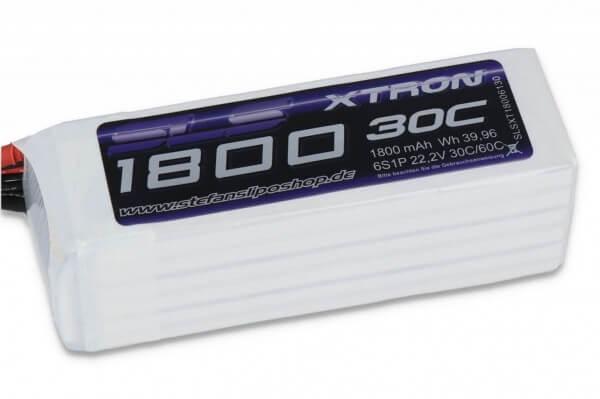 SLS Xtron 1800 mAh 6S Lipo (22,2V) 30/60 C · XT60