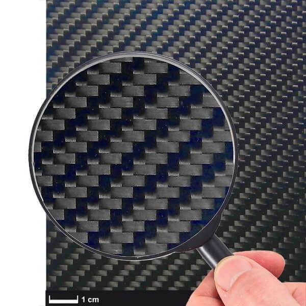 CFK-Platte · 350 x 150 x 2,0 mm · R & G ECOTECH