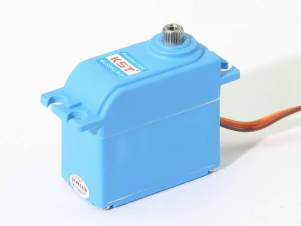 KST BLS 662 WP V2.0 · 21 mm wasserdichtes Brushless-HV-Servo bis 250 Ncm