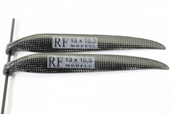 """CFK Klappluftschraube 13"""" x 10,5"""" · 8 mm Hals · RFM Freudenthaler"""