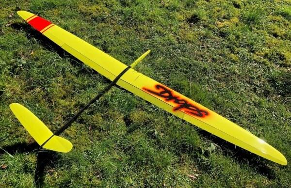 Drops 299 CFK Hartschale Hangflugmodell · Drops-Factory