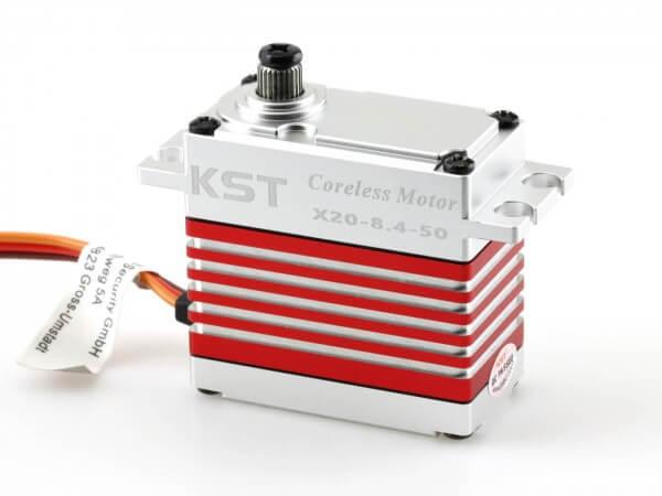 KST X20 8.4-50 · 21 mm digitales HV-Servo bis 450 Ncm · Big Scale