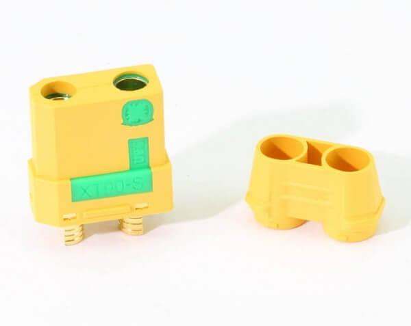 Anti Blitz · XT90 S Buchse · Nylon · Kontakte vergoldet · Amass High Quality Product