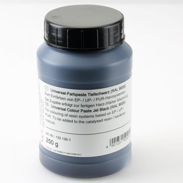 250 g Dose Universal-Farbpaste tiefschwarz (RAL 9005) · R & G