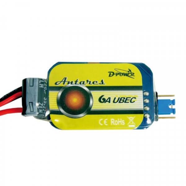Antares 6A UBEC Spannungsregulierung · D-Power
