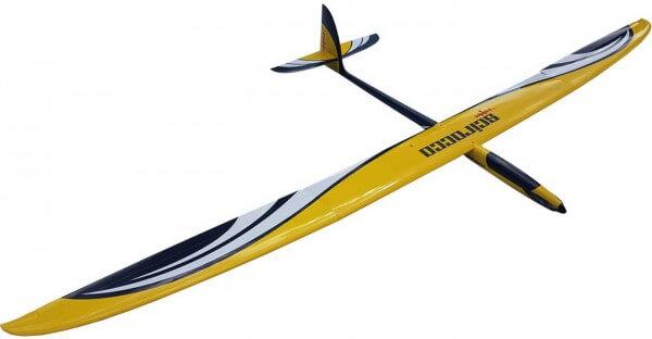 SCIROCCO ARF · 4,00 m GFK 4-Klappen-Elektrosegler · Robbe Modellsport