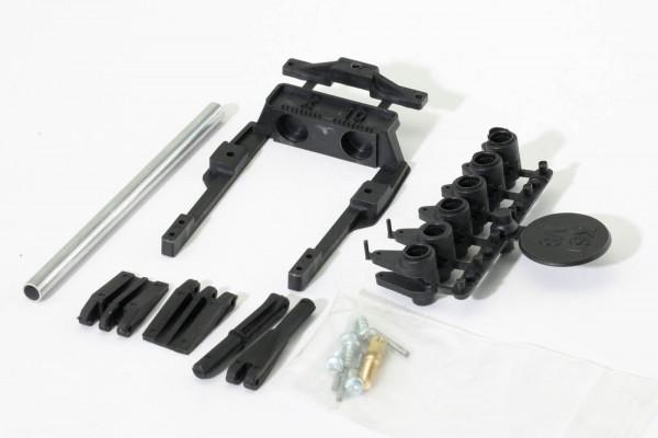 IDS-Servorahmen mit Gegenlager für KST X10, KST X10 Mini, KST DS125, KST DS135, KST DS225
