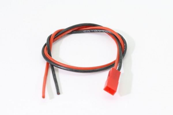 30 cm BEC-Stecker · Akkugegenkabel · 2 x 0,5 mm² Silikon · Muldental
