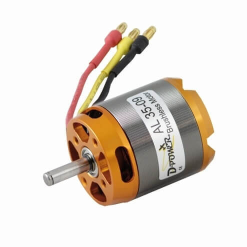 Brushless Motor AL 35-09 · D-Power